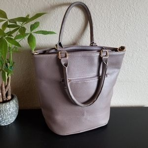 NWOT Large Boho Purple Bag
